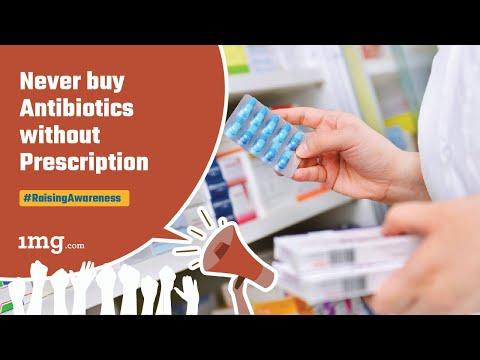 Never buy Antibiotics without prescription