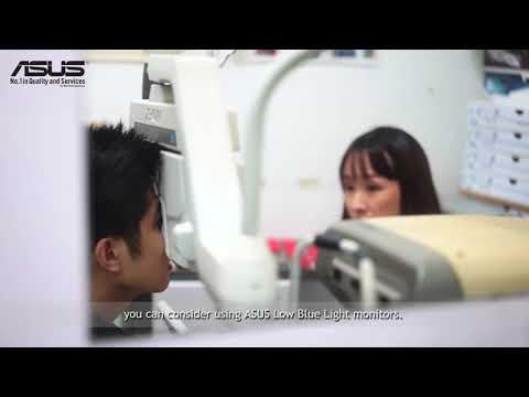ASUS Low Blue Light Eye-Care Monitors