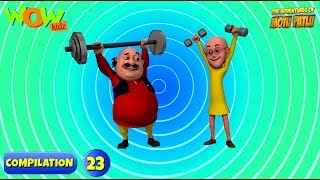 Motu Patlu 6 episodes in 1 hour | 3D Animation for kids | #23