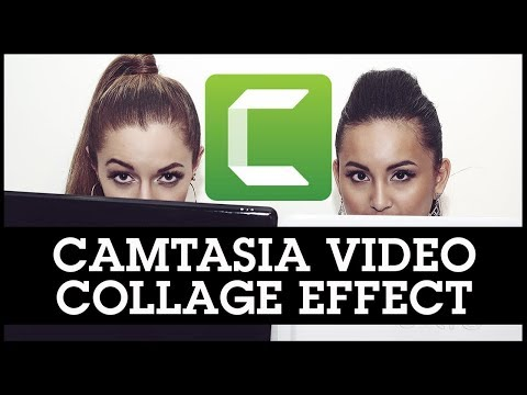 Camtasia Video Collage Effect With Multiple Videos Playing at Once!