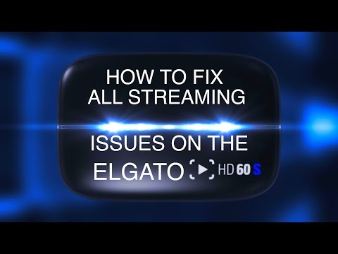 HOW TO FIX ALL LOW BANDWIDTH LIVE STREAM ISSUES ON THE ELGATO GAME CAPTURE HD 60 S! (MAC/PC)