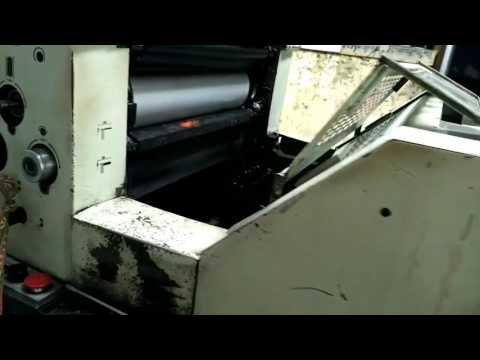 Book printing and making machine