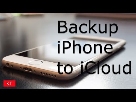 How to backup iPhone to iCloud (from iPhone 6/6s/7/7s)
