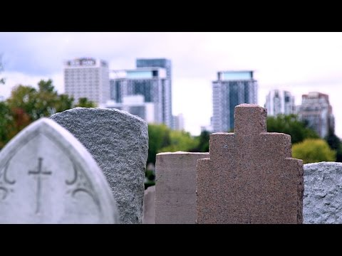 What happens when we run out of cemetery space?