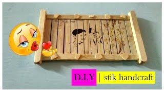 Download FOTO Unik Dari Stik Es Krim D.I.Y   STIK HANDCRAFT Video
