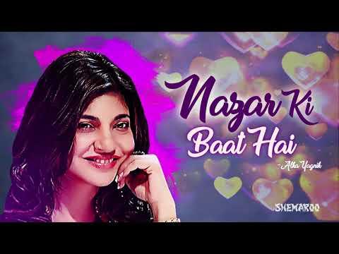 Nazar Ki Baat Hai Kisi Ko Kya Pata  - Dil Kitna Nadan Hai Songs - Alka Yagnik and Kumar Sanu Hits