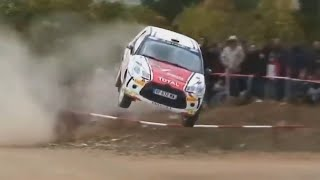 Rally... a CRAZY sport! #01 [jumps, crashes, saves, oops moments & more...]
