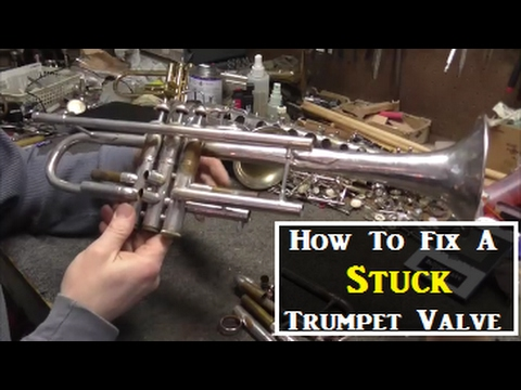 How To Fix A Stuck Valve On A Trumpet | DIY