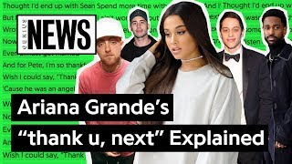 Ariana Grandes Thank U Next Explained  Song Stories