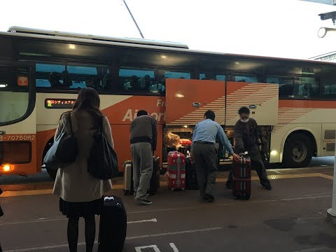 Guide: Narita Airport- Friendly Limousine Bus. Transfer to Haneda Airport