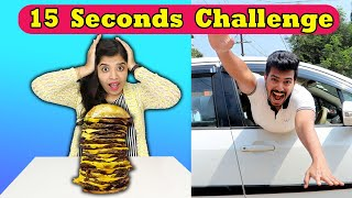 15 Seconds Challenge I Funny Hungry Bird Challenge