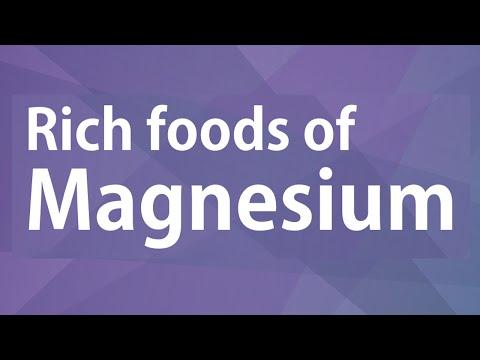 Rich Foods of Magnesium - GOOD FOOD GOOD HEALTH - BENEFITS OF WELLNESS