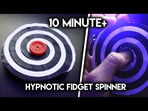 This Fidget Spinner MAKES YOU FORGET YOUR NAME - Hypnotizing Fidget Spinner