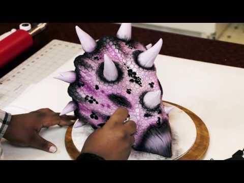 Dinosaur Cake Tutorial with Timbo