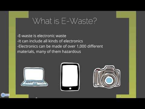 Where Do I Take It?  E-Waste and Hazardous Waste