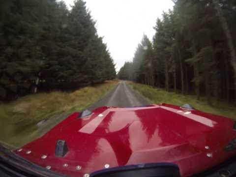Scottish Hill Rally stage 1