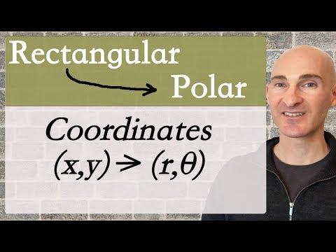 Convert from Rectangular to Polar Coordinates