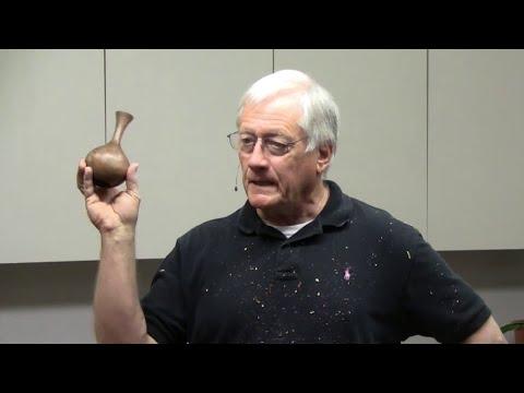 Turning Weed-Pots on the Lathe - John Tisdale