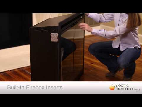 Electric Fireplace Inserts | Electric Fireplaces Direct