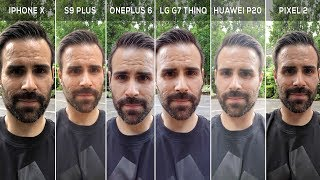 Ultimate Front Facing Camera Comparison! (Best Selfies)
