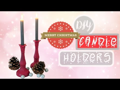 DIY Air-Dry Clay Christmas Candle Holders | Advent Calendar Day #8 | MVD