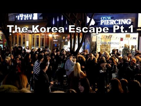 The Korea Escape Pt.1: Hongik University, Myeongdong, Shake Shack, Dongdaemun