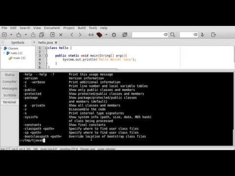 javap - Java Class Disassembler