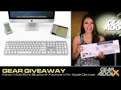 Gear Giveaway: Kanex Multi-Sync Bluetooth Keyboard for Apple Devices