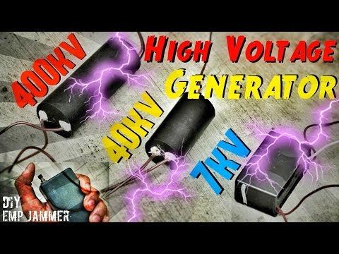 High Voltage Danger !!!!