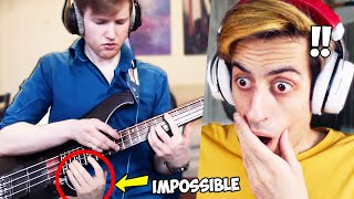 Did He Just Play an IMPOSSIBLE Bassline??