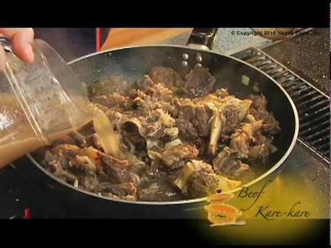 Beef Kare-Kare Recipe - Nestle Club