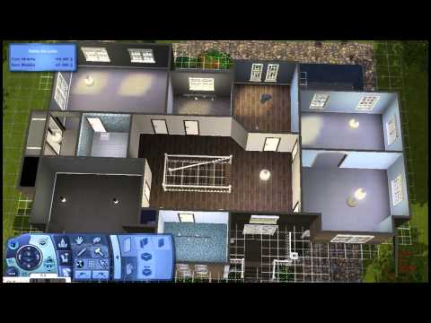 Sims 3 House Building - Olive Residence
