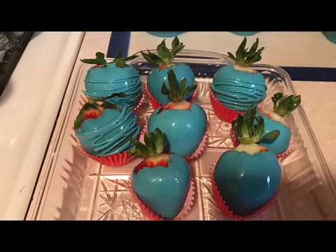 How to Make Candy Apples and Strawberries!