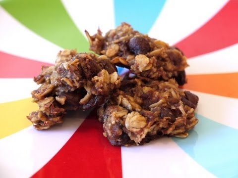 Healthy Snack Recipes for Kids: How to Make Oatmeal Banana Chocolate Chip Cookies - Weelicious