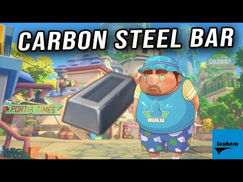 My Time At Portia - How to Craft Carbon Steel Bar