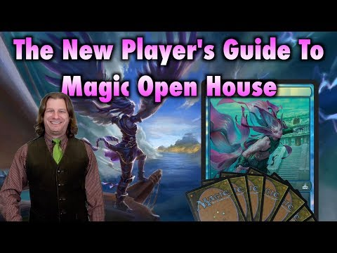 MTG - The New Player's Guide To Magic The Gathering Open House