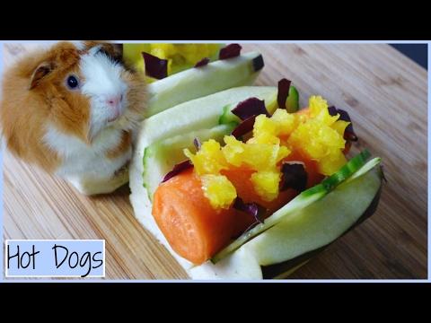 Hot Dogs for Guinea Pigs   Veggie DIY