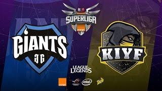 SUPERLIGA ORANGE-Giants Only The Brave vs Kiyf e-Sports Club-Mapa 1-#SUPERLIGAORANGELOL11