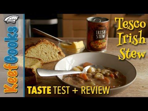 Tesco Irish Stew - Taste Test and Review