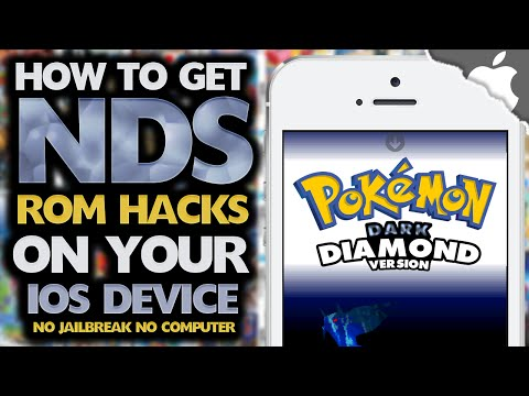 nds4ios: How To Get Pokemon ROM Hacks! (NO COMPUTER) (NO JAILBREAK)