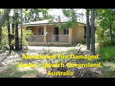 Abandoned Burnt House Ipswich SEQ, Australia - Junkie Squatter Haven!