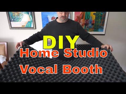 DIY Home Studio Vocal Booth