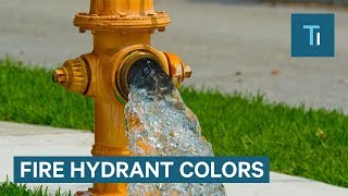 The Meaning of Fire Hydrant Colors