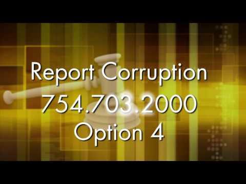 Miami Beach Public Service Announcement - Report Corruption