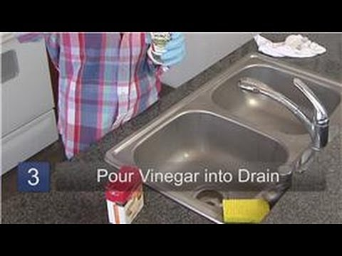 Household Cleaning Tips : How to Clean a Smelly Drain