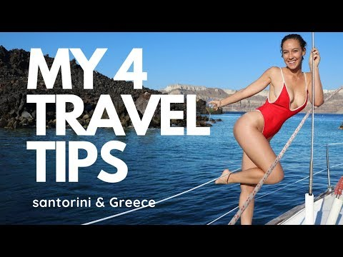 MY 4 TRAVEL TIPS for SANTORINI and Greece Travel