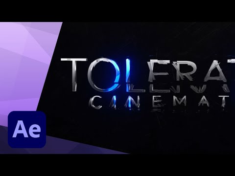 How to create an EPIC Sci-Fi Movie Trailer Title animation in After Effects CC 2017