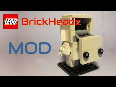 LEGO MOD - BrickHeadz 41597 Go Brick Me