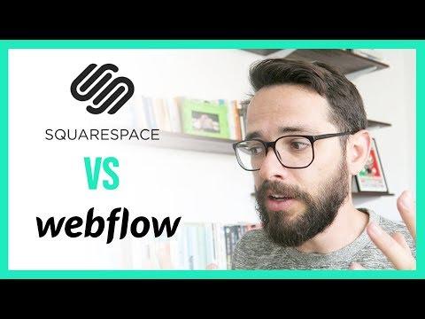 Squarespace VS Webflow: Website Building Platform Review