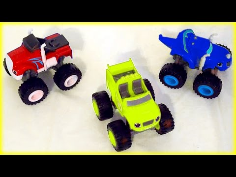 ALL-NEW Blaze and the Monster Machines Color Mix-Up Game for Kids Children & Toddlers